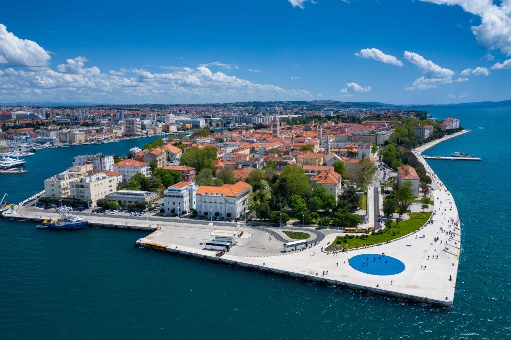 På en rejse til Kroatien bør du se Zadar