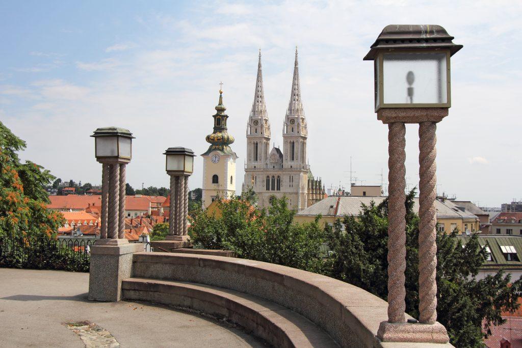På en rejse til Kroatien bør du se Zagreb