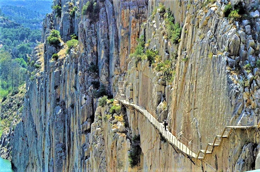 Langtidsferie i Sydspanien. Tag på udflugt til Caminito del Rey