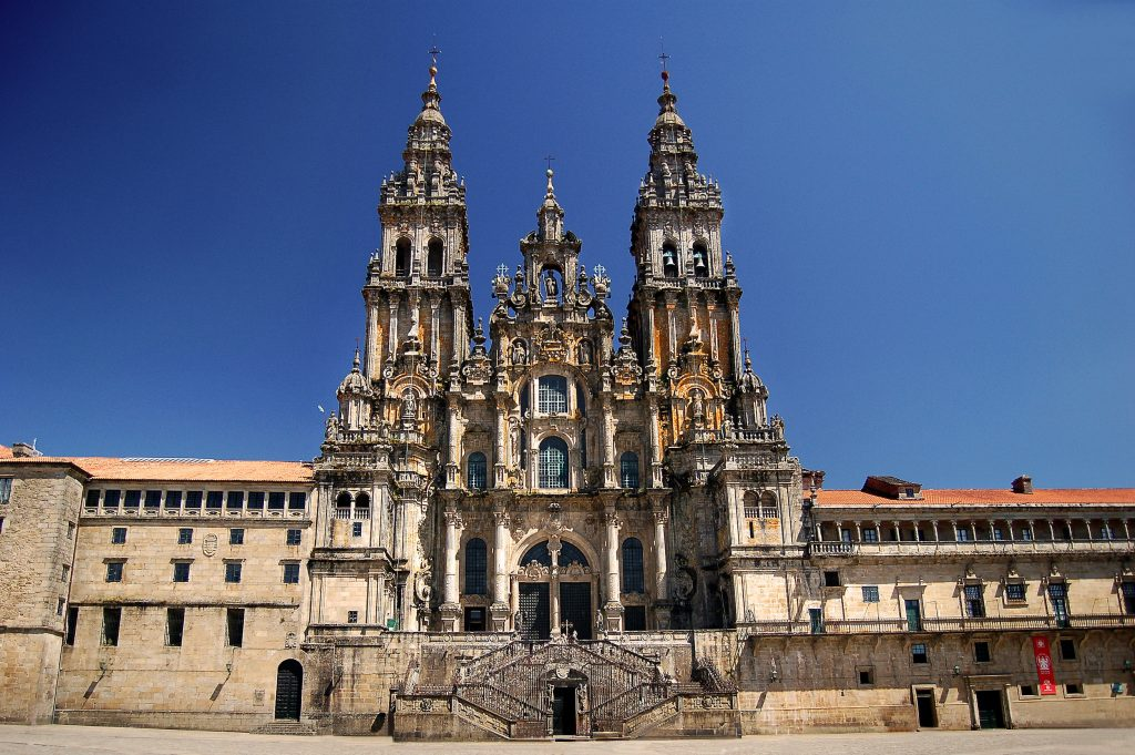 Vandreferie på Caminoen ender som regel ved katedralen i Santiago