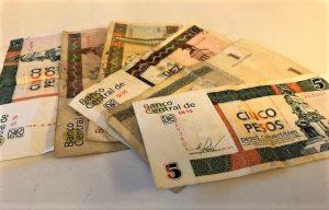 CUC-pengesedler fra Cuba