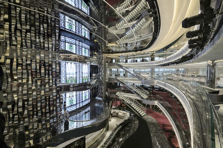 Atrium på krydstogtskib