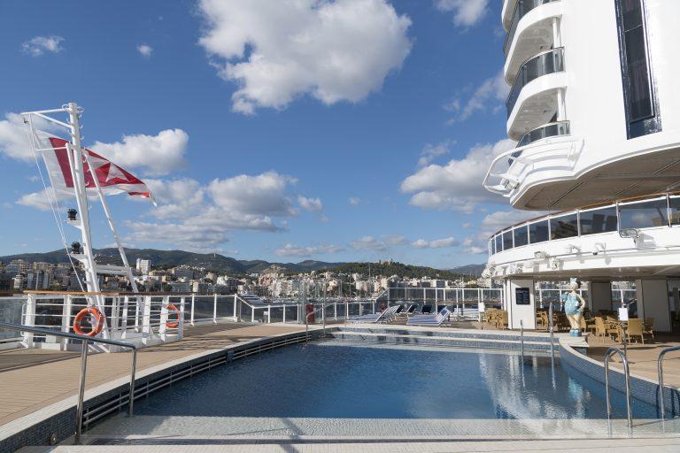 Swimmingpool på krydstogtskib